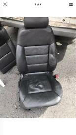 Vectra leather seats