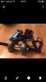 Exercise equipment x4