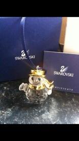 SWAROVSKI CRYSTAL - Classic Snowman (NEW IN BOX)