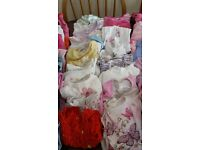 girls clothes 12-18 mnths. 70 items inc 20 tops, 9 dresses, 4 jkts, 6 skirts, 12 trousers. grt cond.