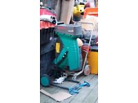 Powerful Bosch Garden Shredder 240v perfect working order Ph: 07922603555
