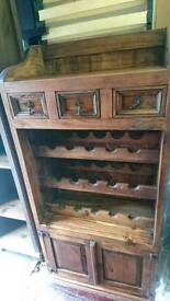 Wine rack)/ kitchen dresser