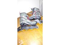 Street Teens inline roller blades size 41-43