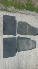 Rubber mats for Jeep Cherokee