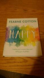 Fearne cotton happy book £5 unsued