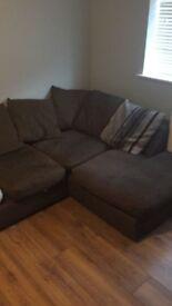 Corner Sofa for sale. L shape, right hand facing