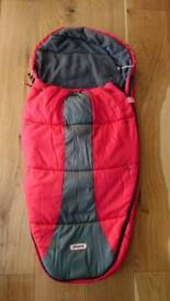 Phil and teds sleeping bag, cosy toes, snuggle and snoozr