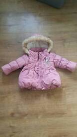 Winter coat from Disney size 3-6 months