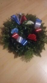 Home made 10inch holly wreaths £10