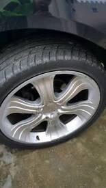 Alloy wheels 285 35 22