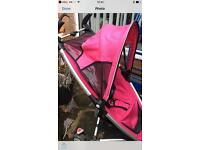 Bright pink quinny zapp can deliver or collect