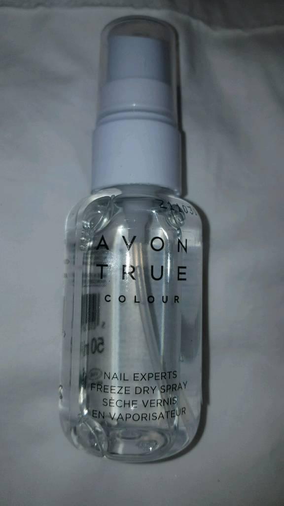 Avon nail experts freeze dry spray **brand new**