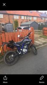Yamaha wr125x show room condition very low mileage