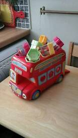 Toy bus shape sorter