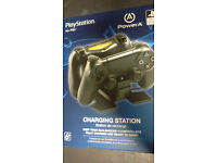 Sony Official Licensed PowerA PlayStation 4 Dual Docking Charging Stations BRAND NEW