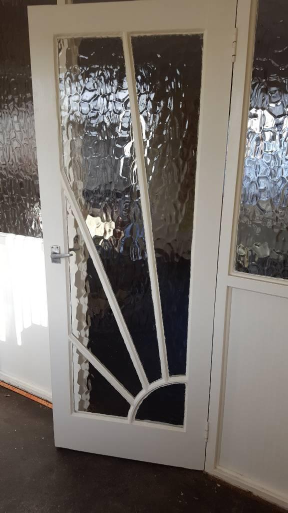Art Deco Glazed Internal Door