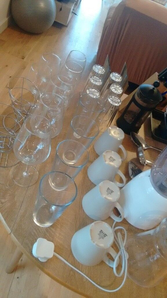 Kitchen Utensils Kitchen Cutlery Set Crockery Set Wine Glasses
