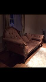 Barker and Stonehouse Chaise Longue