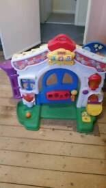 Fisher price learning house.age 1-3