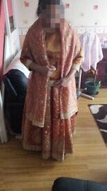Beautiful Rose Gold Wedding/Bridal Dress - 7