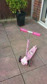 Girls Hello Kitty scooter