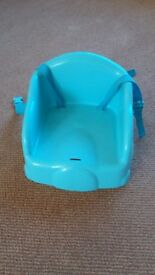 Baby/toddler plastic booster seat