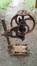 Mancuna A2X pillar drill