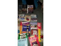 Large collection of driving books