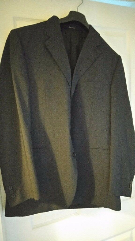 Mens black versace suit and Ted Baker suit jacket