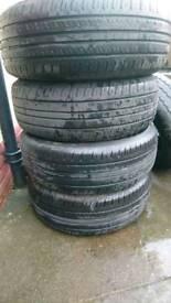 Van tyres hankook 225 60 17