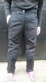 LADIES MOTORCYCLE TROUSERS - Used - Dainese Gore Tex Ladies motorcycle trousers (48)
