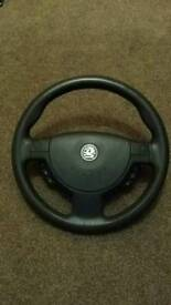 Vauxhall corsa steering wheel