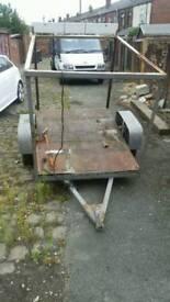 6x4 trailer solid steel