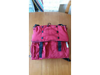 Red changing bag in great condition