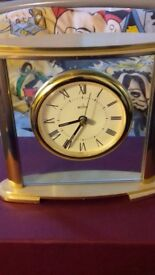 Hamilton Mantel Clock, Brass Effect
