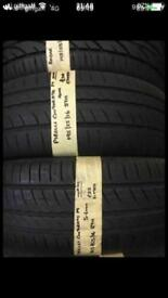195/55/16 87H PIRELLI CINTURATO P1 pair of 2 tyres.