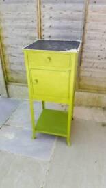 Steel cabinet, needs re-paint.