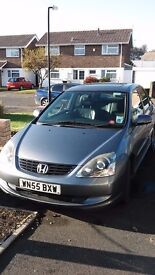 Grey Honda Civic Petrol Automatic, very clean and considerate previous owners