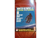 Winter Olympics 1992 Official BBC Programme (Albertville)