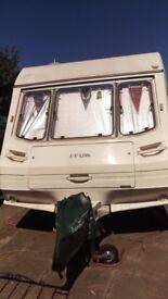 Swift Europa Sterling Caravan