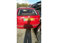 2002 SKODA FABIA CLASSIC SDI (MANUAL DIESEL)FOR PARTS ONLY