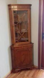 Very attractive Shapes Yew Corner unit for sale