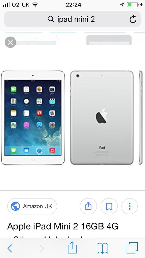 IPad mini 2 Retina Display 16gb in excellent condition