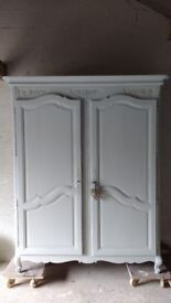 shabby chic french antique wardrobes london