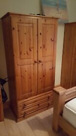 Two wardrobes excellent condition