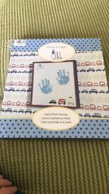 Mamas and papas handprint canvas BNIB