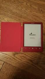 Sony eBook reader - as new - uses Kobo store - like Kindle