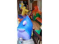 ELC Inflatable Kids Pop up Tent System (Airflow Undersea Adventure)