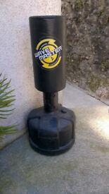 Punch bag free standing by Wavemaster,