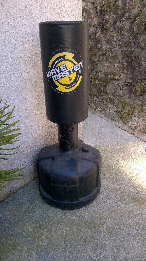 Punch Bag Free Standing By Wavemaster